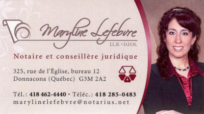 Notaire Maryline Lefebvre - Notaires