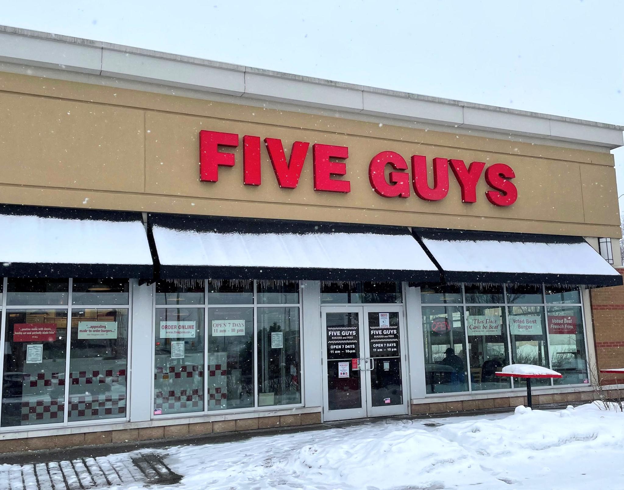Five Guys - Fast Food Restaurants