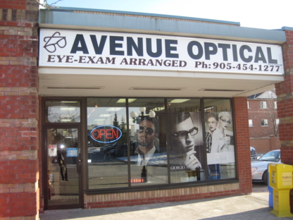 Avenue Optical - Opticians - 905-454-1277