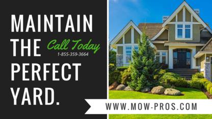 Mow-Pros Inc - Lawn Maintenance - 289-278-3600
