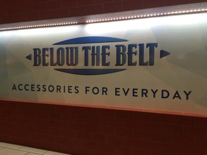 Below the Belt - Men's Clothing Stores - 604-552-1855