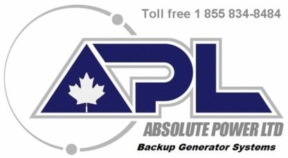 Absolute Power Ltd - Turbines