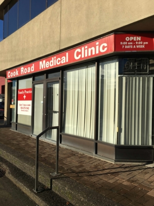 Cook Road Medical Clinic - Physicians & Surgeons - 604-279-1942