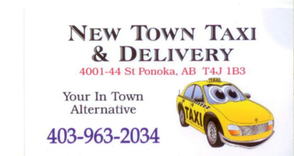 New Town Taxi & Delivery Ltd. - Taxis - 403-963-2034