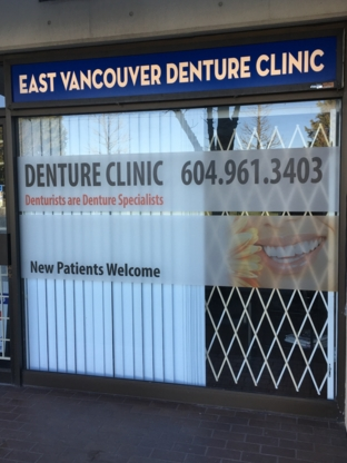 East Vancouver Denture Clinic - Dentists - 604-961-3403