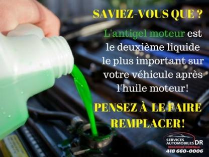 Automobile DR - Réparation et entretien d'auto - 418-660-0769