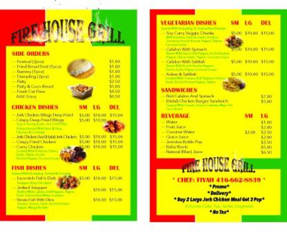 Fire House Grill Food Truck - Food Trucks - 416-662-8839