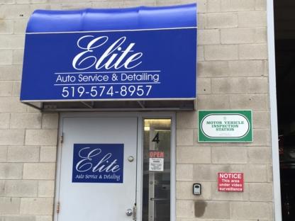 Elite Auto Service & Detailing - Car Repair & Service - 519-884-8957