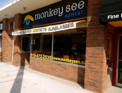 Monkey See Optical - Opticians - 519-472-2535