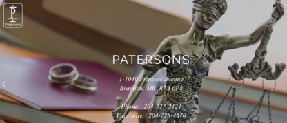 Patersons - Avocats - 204-727-2424