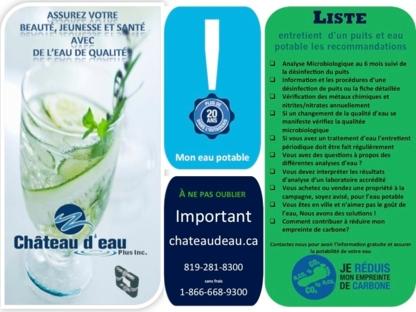 Château d'Eau Plus - Water Treatment Equipment & Service