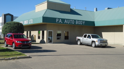 P A Auto Body (83) Ltd - Auto Body Repair & Painting Shops