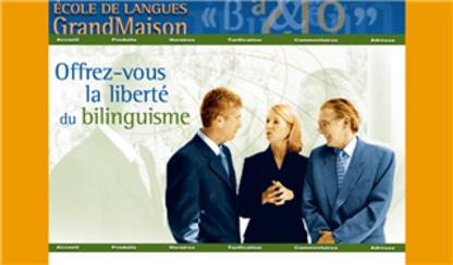 École de Langues Grandmaison - Écoles et cours de langues - 514-985-2414