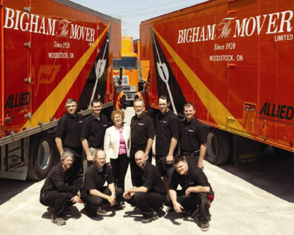 Bigham The Mover Ltd - Moving Equipment & Supplies - 519-537-5568