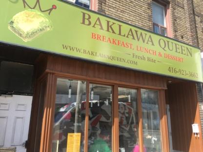 Baklawa Queen - Bakeries