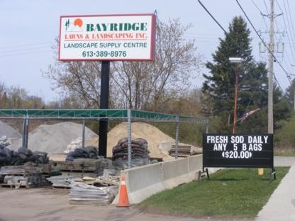 Bayridge Lawn & Landscaping Inc - Landscape Contractors & Designers - 613-389-8976