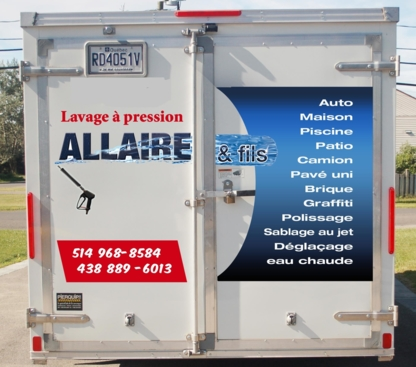 Lavage a Pression Allaire & Fils Inc - Truck Washing & Cleaning