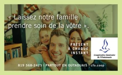 Coopérative funéraire de l'Outaouais - Salons funéraires - 819-568-2425