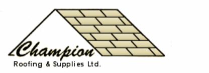 Champion Roofing & Supplies Ltd - Siding Contractors