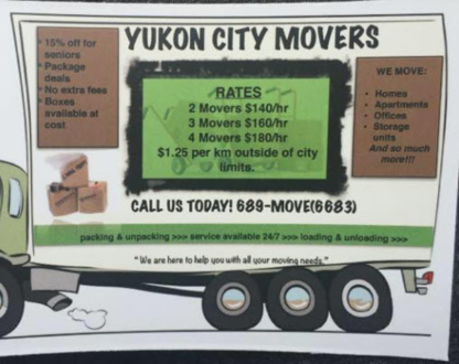 Yukon City Movers - Moving Services & Storage Facilities