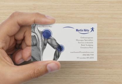Martin Hétu Orthothérapeute - Massothérapeutes
