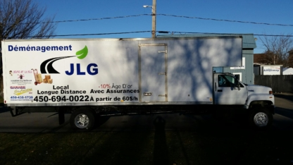 Déménagement JLG - Moving Services & Storage Facilities - 450-694-0022