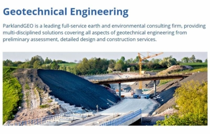 Parkland Geotechnical Consulting Ltd - Consulting Engineers