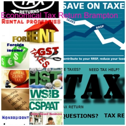 Economical Tax Service - Tax Consultants - 905-793-1003