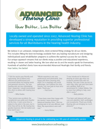 Advanced Hearing Clinic Ltd - Prothèses auditives
