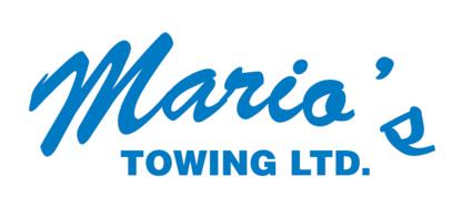Marios Towing - Vehicle Towing - 250-765-6009