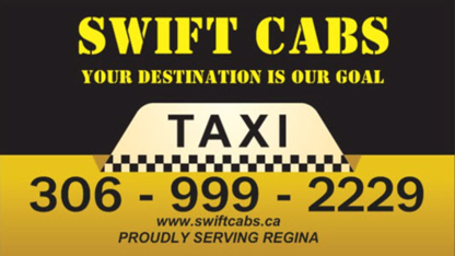 Swift Cabs Regina - Taxis - 306-999-2229