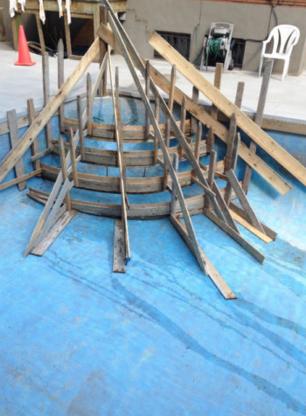 Coffrage Rénovation de Béton - Entrepreneurs en béton - 514-467-3406