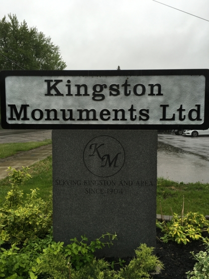 Voir le profil de Kingston Monuments And Stonework - Vanier