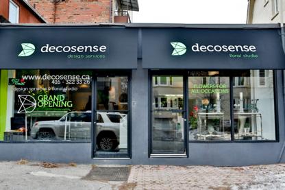 Decosense Design Services & Floral Studio - Florists & Flower Shops - 416-322-3326