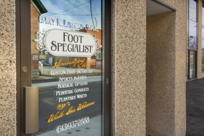 Gary R Easton D.Ch. Foot Specialist - Podologists - 613-937-2888
