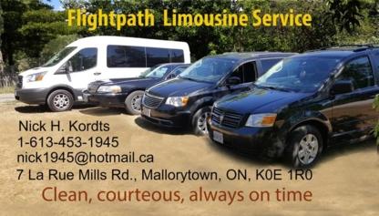 Flightpath Limousine Service - Limousine Service - 613-453-1945