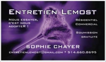 Entretien Ménager Lemost - Home Cleaning - 514-660-8695