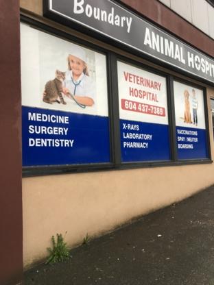 Boundary Animal Hospital - Vétérinaires - 604-437-7389