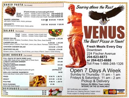 Venus Pizza - Italian Restaurants