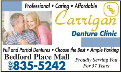 Carrigan Denture Clinic - Denturists - 902-835-5242