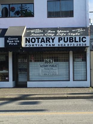 Portia Tam - Notaries Public