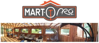Mart O Pro - Rénovations de salles de bains - 819-818-4808