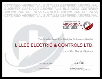 LILLEE ELECTRIC & CONTROLS LTD - Electricians & Electrical Contractors