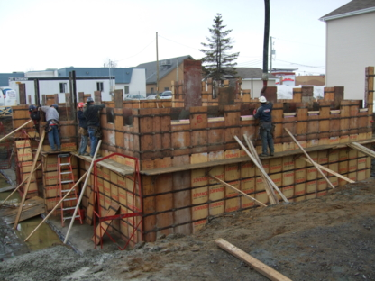 Coffrage A Beauséjour - Entrepreneurs en construction - 450-753-3388