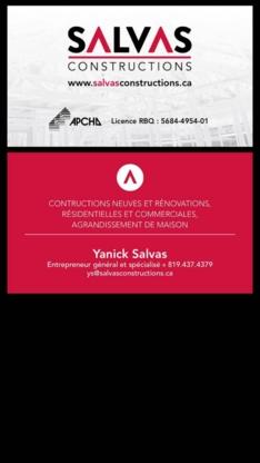 View Les Constructions Salvas's Magog profile