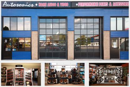 Autosonics - Car Radios & Stereo Systems - 1-800-634-7060