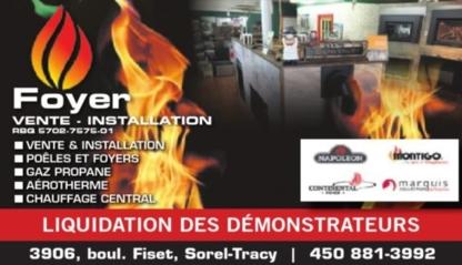 Centre du Foyer PMC - Fireplaces - 450-881-3992