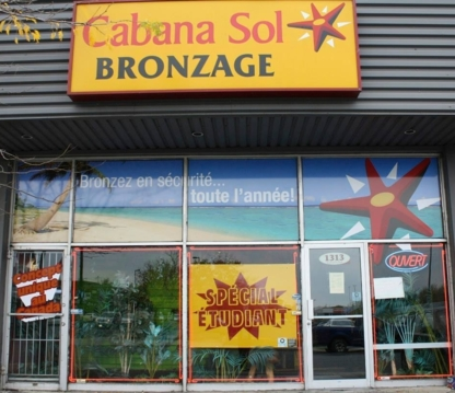CabanaSol - Salons de bronzage - 450-332-0818