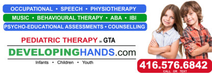 Developing Hands Pediatric Therapy - Occupational Therapists