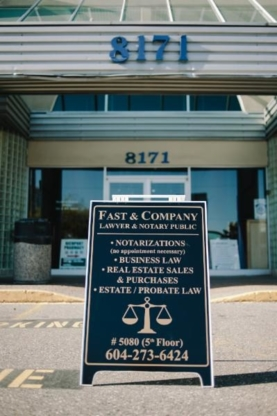 Fast & Company - Estate Lawyers - 604-273-6424